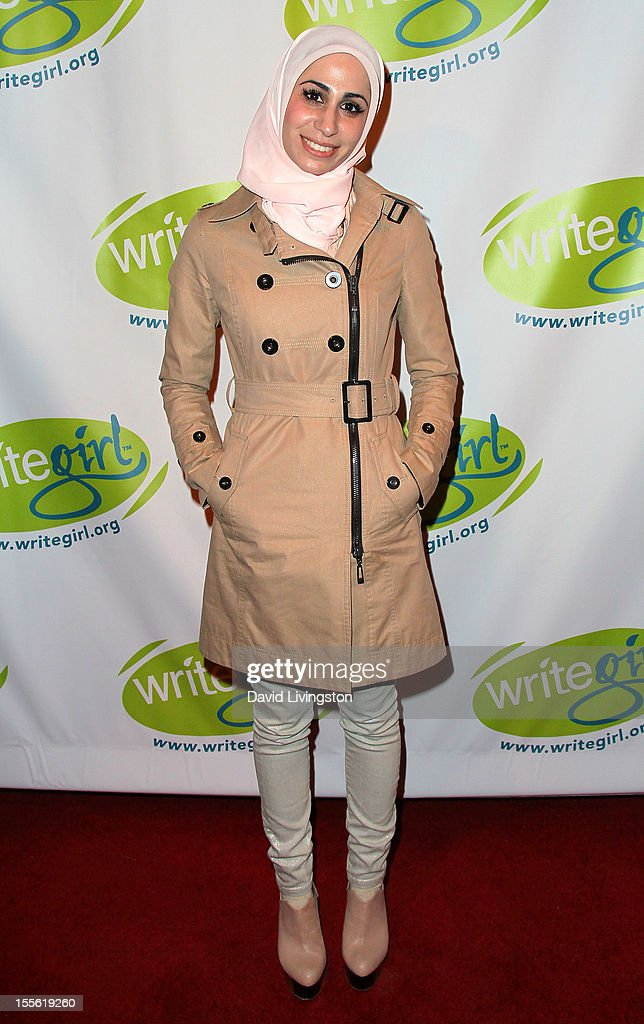 Writer Tahereh Mafi attends the Bold Ink Awards at the Eli and Edythe Broad Stage on November 5 2012 in Santa Monica California