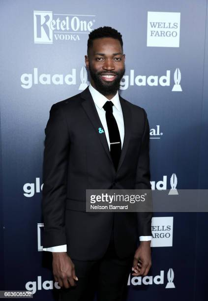 Writer Tarell Alvin McCraney celebrates achievements in the LGBTQ community at the 28th Annual GLAAD Media Awards sponsored by LGBTQ ally Ketel One...