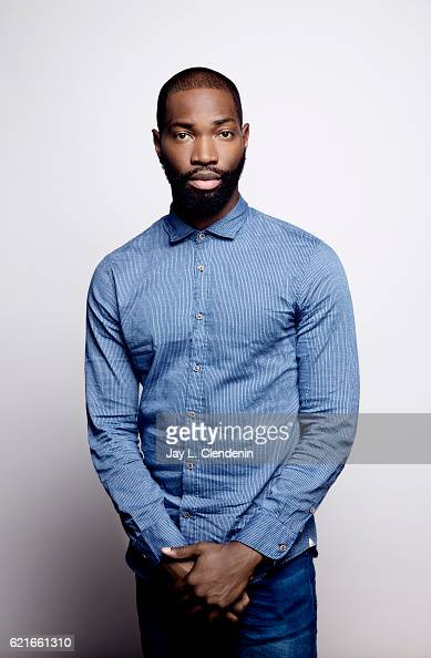 Writer Tarell Alvin McCraney from the film 'Moonlight' poses for a portraits at the Toronto International Film Festival for Los Angeles Times on...