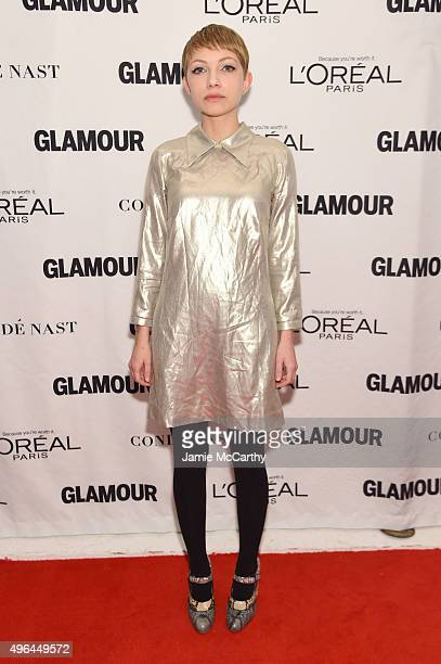 Writer Tavi Gevinson attends 2015 Glamour Women Of The Year Awards at Carnegie Hall on November 9 2015 in New York City