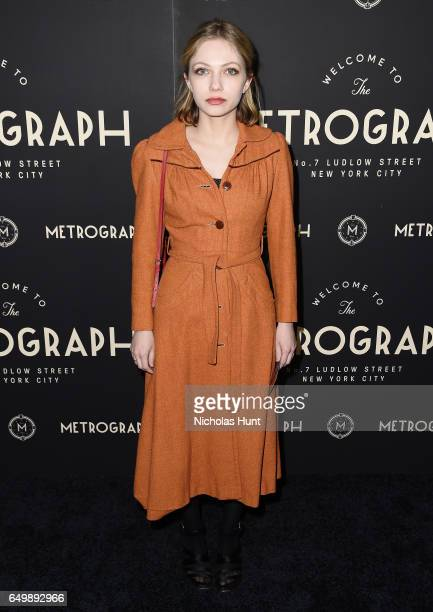 Writer Tavi Gevinson attends the Metrograph Theater 1st Year Anniversary Party at The Metrograph on March 8 2017 in New York City