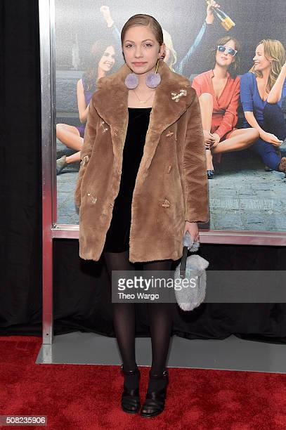 Writer Tavi Gevinson attends the New York premiere of 'How To Be Single' at the NYU Skirball Center on February 3 2016 in New York City