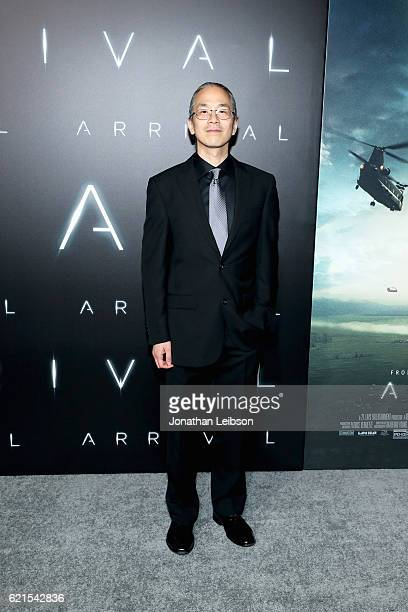 Writer Ted Chiang attends the LA Premiere of the Paramount Pictures title 'Arrival' at Regency Village Theatre on November 6 2016 in Westwood...