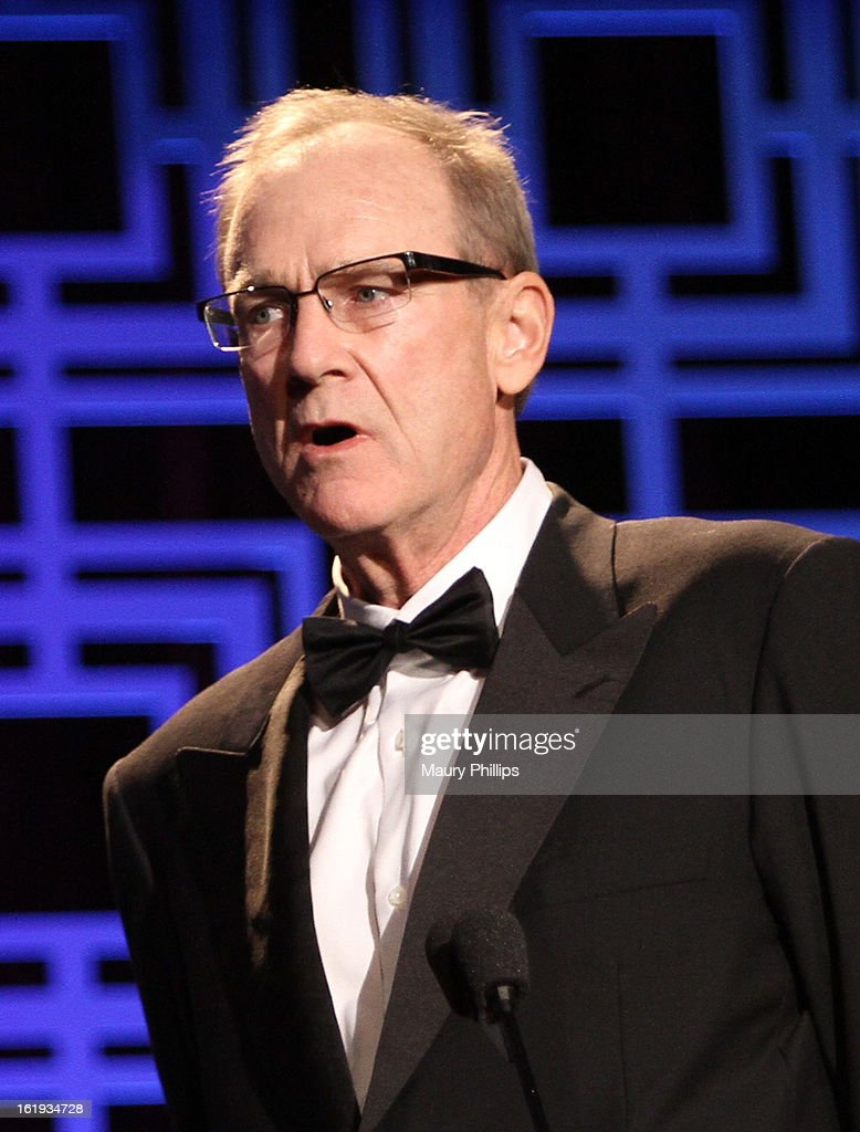 Writer Ted Mann accepts the Writers Guild Award for Long Form - Original TV, onstage during the 2013 WGAw Writers Guild Awards at JW Marriott Los Angeles at L.A. LIVE on February 17, 2013 in Los Angeles, California.