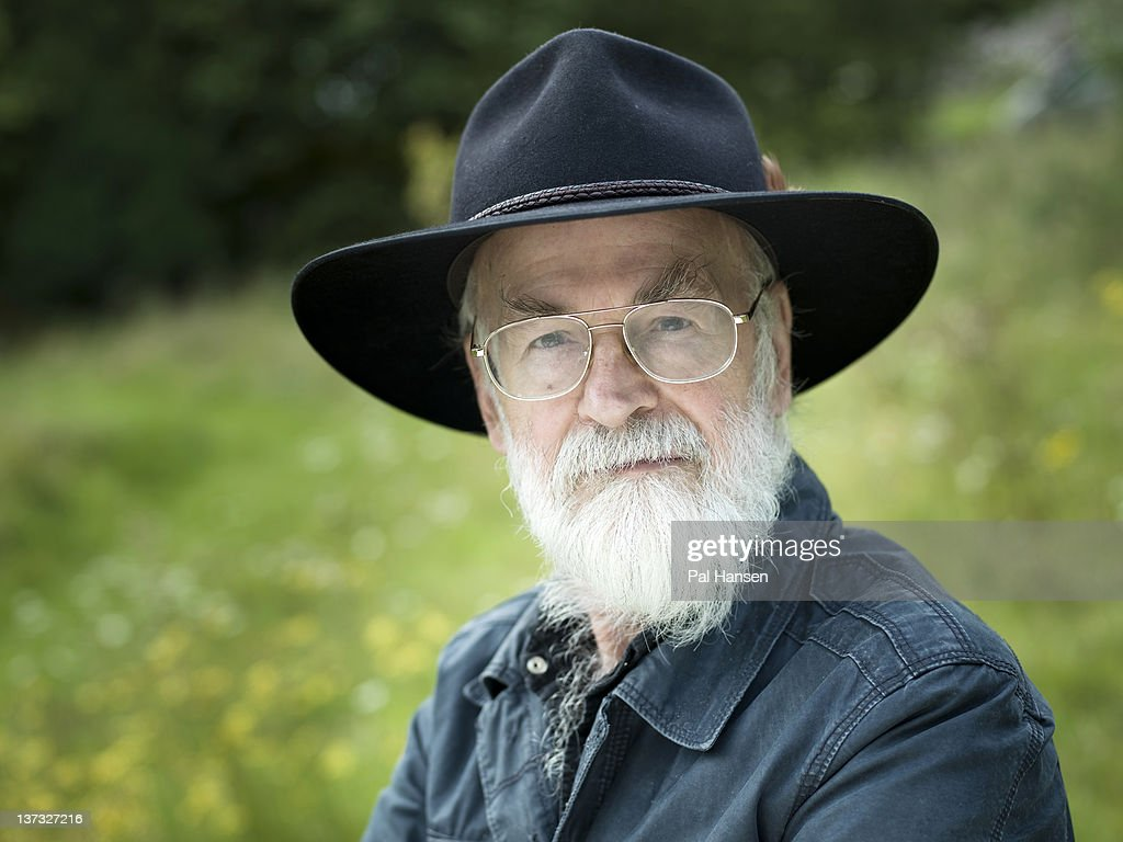Writer Terry Pratchett is photographed for Stern magazine on September 8, 2011 in Shipham, England.