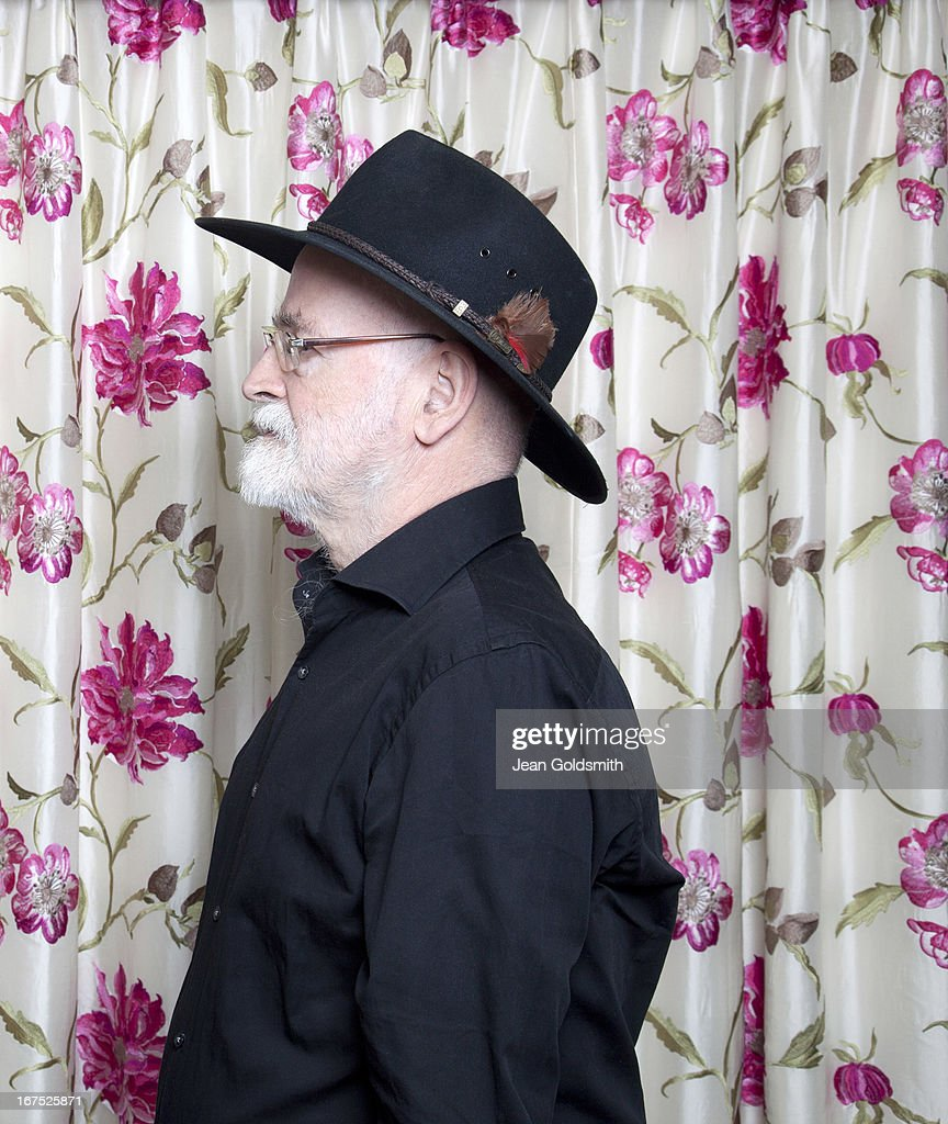 Writer Terry Pratchett is photographed for the Independent on May 24, 2012 in London, England.