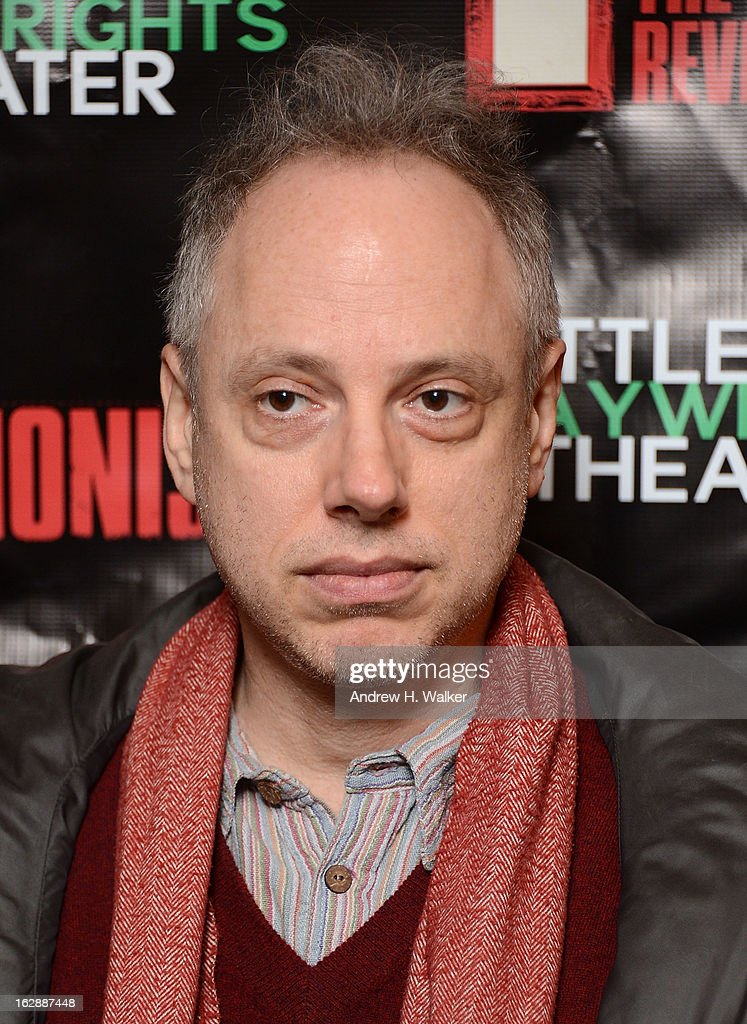 Writer Todd Solondz attends 'The Revisionist' opening night at Cherry Lane Theatre on February 28, 2013 in New York City.
