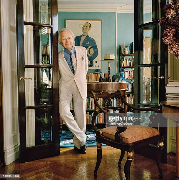 Writer Tom Wolfe is photographed for Vanity Fair Magazine on February 3 2015 at home in New York City PUBLISHED IMAGE