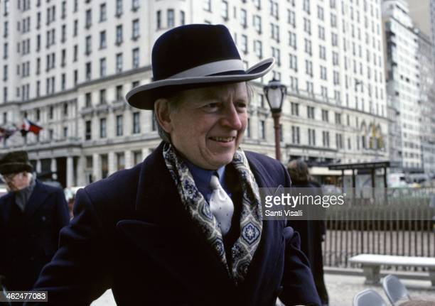 Writer Tom Wolfe on January 15 1989 in New York New York