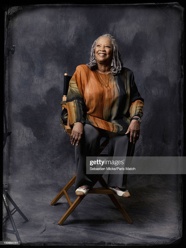 Writer <a gi-track='captionPersonalityLinkClicked' href=/galleries/search?phrase=Toni+Morrison&family=editorial&specificpeople=213946 ng-click='$event.stopPropagation()'>Toni Morrison</a> is photographed for Paris Match on July 24, 2012 in New York City.