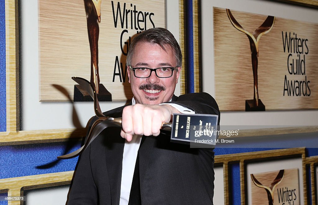 Writer Vince Gilligan is being honored during the 2014 Writers Guild Awards LA Ceremony at the JW Marriott Los Angeles at LA LIVE on February 1 2014...