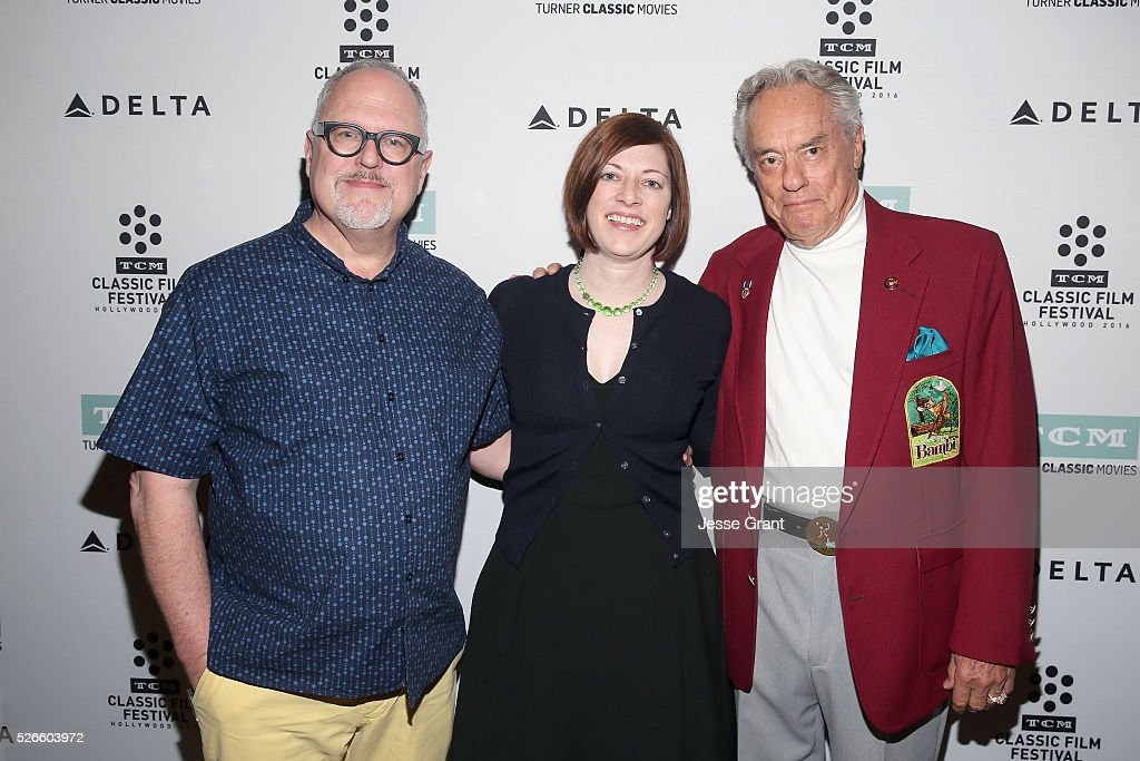 Writer William Joyce, Managing Director of TCM Classic Film Festival Genevieve McGillicuddy and actor Donnie Dunagan attend the 'Bambi' screening during day 3 of the TCM Classic Film Festival 2016 on April 30, 2016 in Los Angeles, California. 25826_009