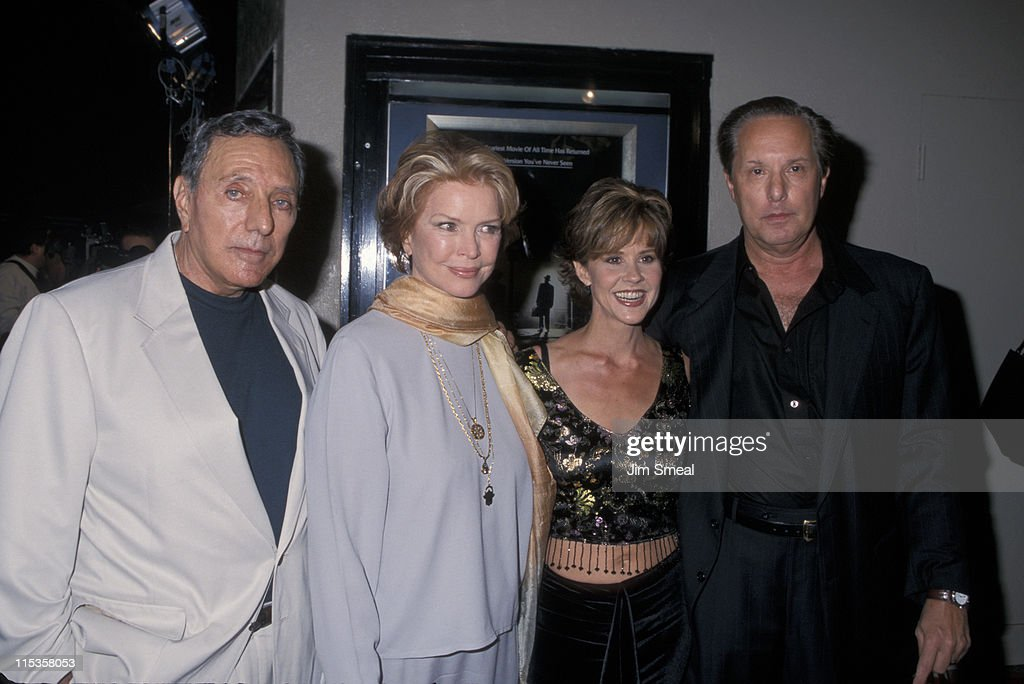 Writer William Peter Blatty Ellen Burstyn Linda Blair and director William Friedkin