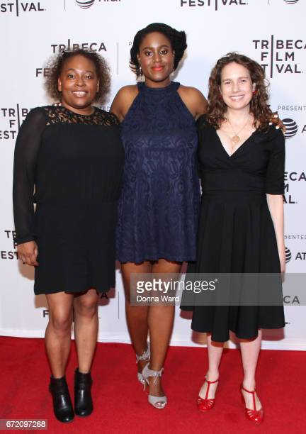 Writer Yolanda Carney and director Kate Marks attend Tribeca TV Pilot Season 'Manic' showing during the 2017 Tribeca Film Festival at Cinepolis...