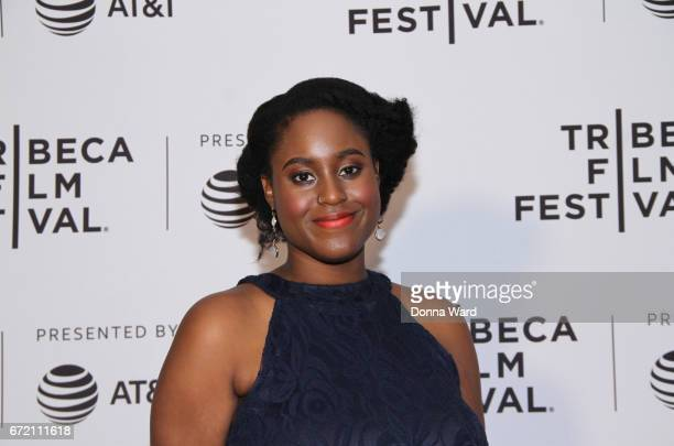 Writer Yolanda Carney attends Tribeca TV Pilot Season 'Manic' showing during the 2017 Tribeca Film Festival at Cinepolis Chelsea on April 23 2017 in...