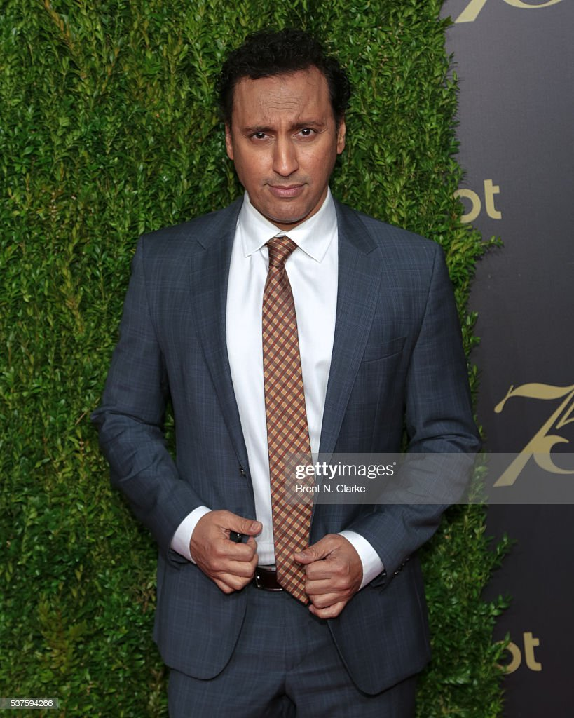 Writer/actor Aasif Mandvi attends the 75th Annual Peabody Awards Ceremony held at Cipriani Wall Street on May 21 2016 in New York City