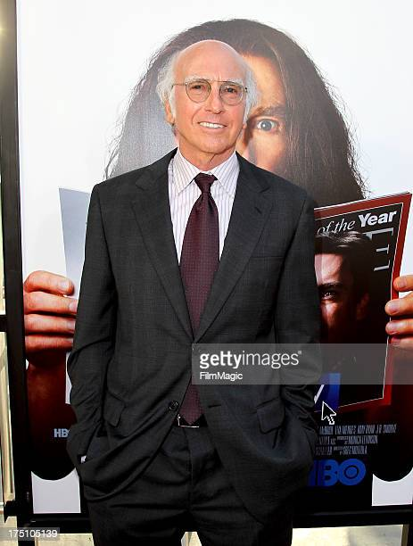 Writer/Actor Larry David attends HBO's Clear History premiere at ArcLight Cinemas Cinerama Dome on July 31 2013 in Hollywood California