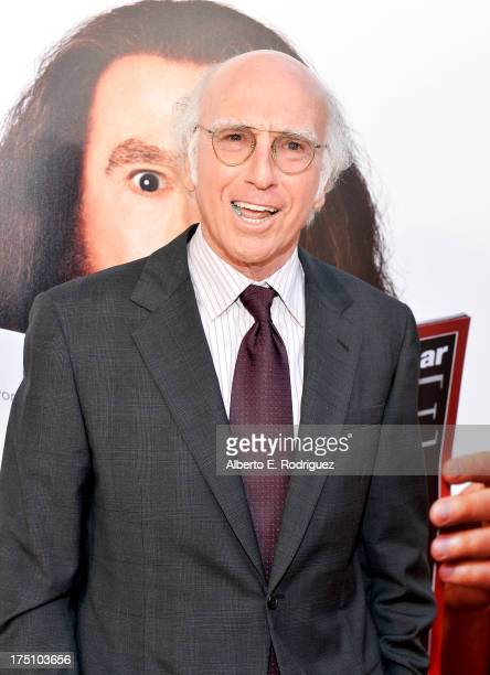 Writer/Actor Larry David attends the premiere of HBO Films' 'Clear History' at ArcLight Cinemas Cinerama Dome on July 31 2013 in Hollywood California