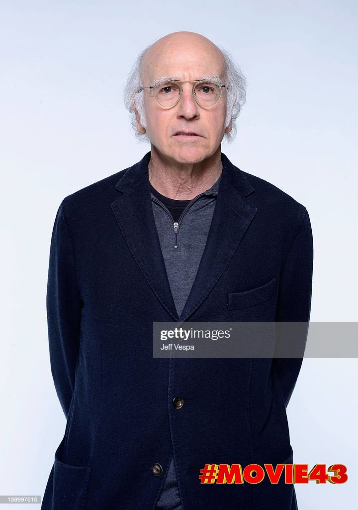 Writer/actor <a gi-track='captionPersonalityLinkClicked' href=/galleries/search?phrase=Larry+David&family=editorial&specificpeople=125184 ng-click='$event.stopPropagation()'>Larry David</a> poses for a portrait during Relativity Media's 'Movie 43' Los Angeles premiere at TCL Chinese Theatre on January 23, 2013 in Hollywood, California.