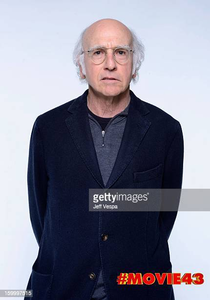 Writer/actor Larry David poses for a portrait during Relativity Media's 'Movie 43' Los Angeles premiere at TCL Chinese Theatre on January 23 2013 in...