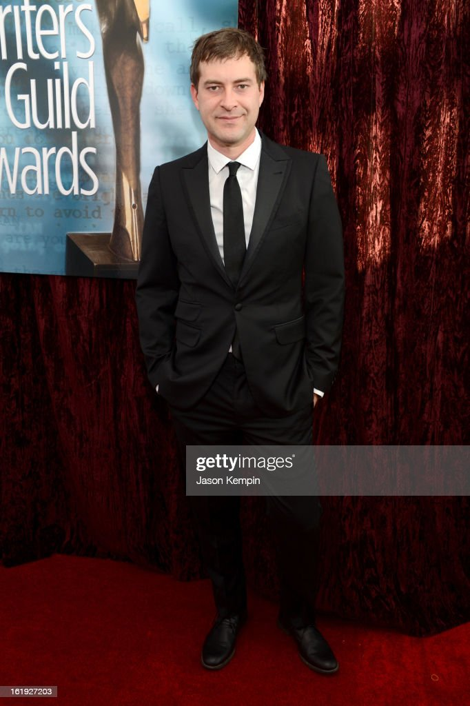 Writer/actor <a gi-track='captionPersonalityLinkClicked' href=/galleries/search?phrase=Mark+Duplass&family=editorial&specificpeople=572703 ng-click='$event.stopPropagation()'>Mark Duplass</a> arrives at the 2013 WGAw Writers Guild Awards at JW Marriott Los Angeles at L.A. LIVE on February 17, 2013 in Los Angeles, California.