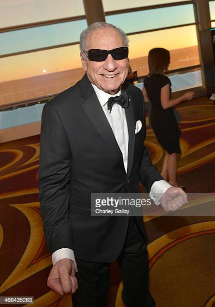 Writer/actor Mel Brooks attends the 2014 Writers Guild Awards LA Ceremony at JW Marriott at LA Live on February 1 2014 in Los Angeles California