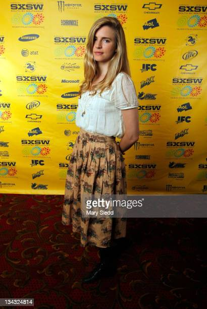 Writer/actress Brit Marling attends the 2011 SXSW Music Film Interactive Festival 'Another Earth' Premiere at Paramount Theater on March 14 2011 in...