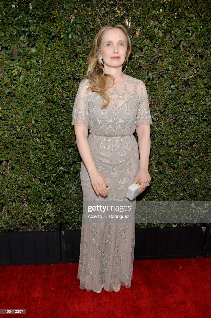 Writer/actress <a gi-track='captionPersonalityLinkClicked' href=/galleries/search?phrase=Julie+Delpy&family=editorial&specificpeople=201914 ng-click='$event.stopPropagation()'>Julie Delpy</a> attends the 2014 Writers Guild Awards L.A. Ceremony at J.W. Marriott at L.A. Live on February 1, 2014 in Los Angeles, California.