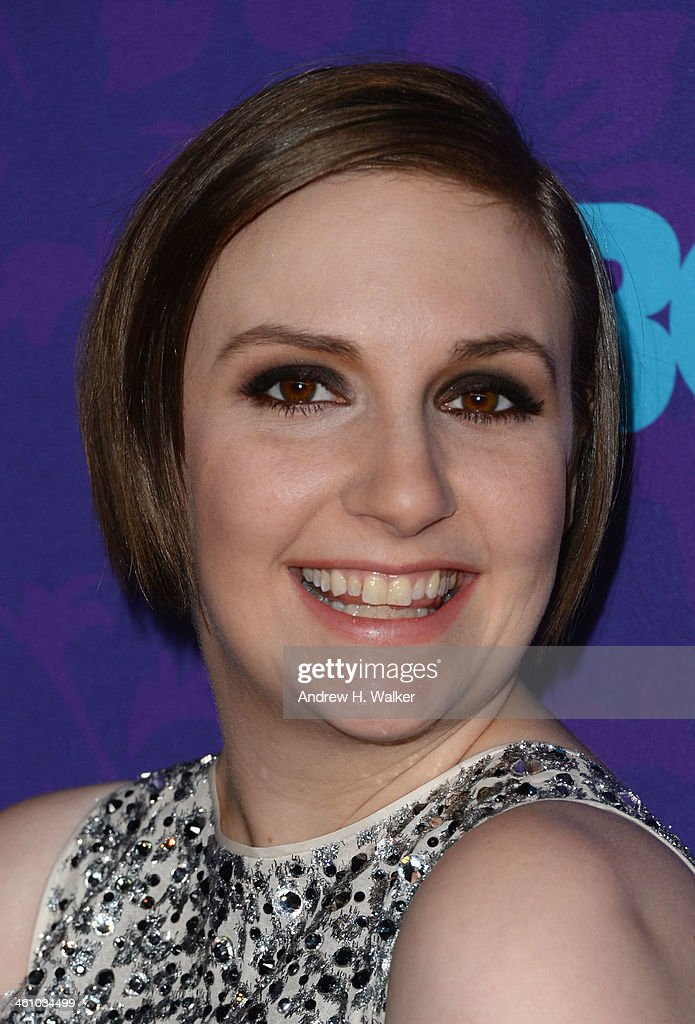 Writer/Actress Lena Dunham attends the 'Girls' season three premiere at Jazz at Lincoln Center on January 6, 2014 in New York City.