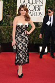 Writeractress Tina Fey arrives at the 70th Annual Golden Globe Awards held at The Beverly Hilton Hotel on January 13 2013 in Beverly Hills California