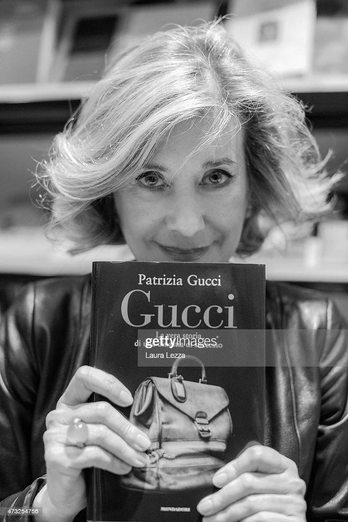 patrizia gucci presents the book 39 gucci la vera storia di una dinastia di successo 39 getty images. Black Bedroom Furniture Sets. Home Design Ideas