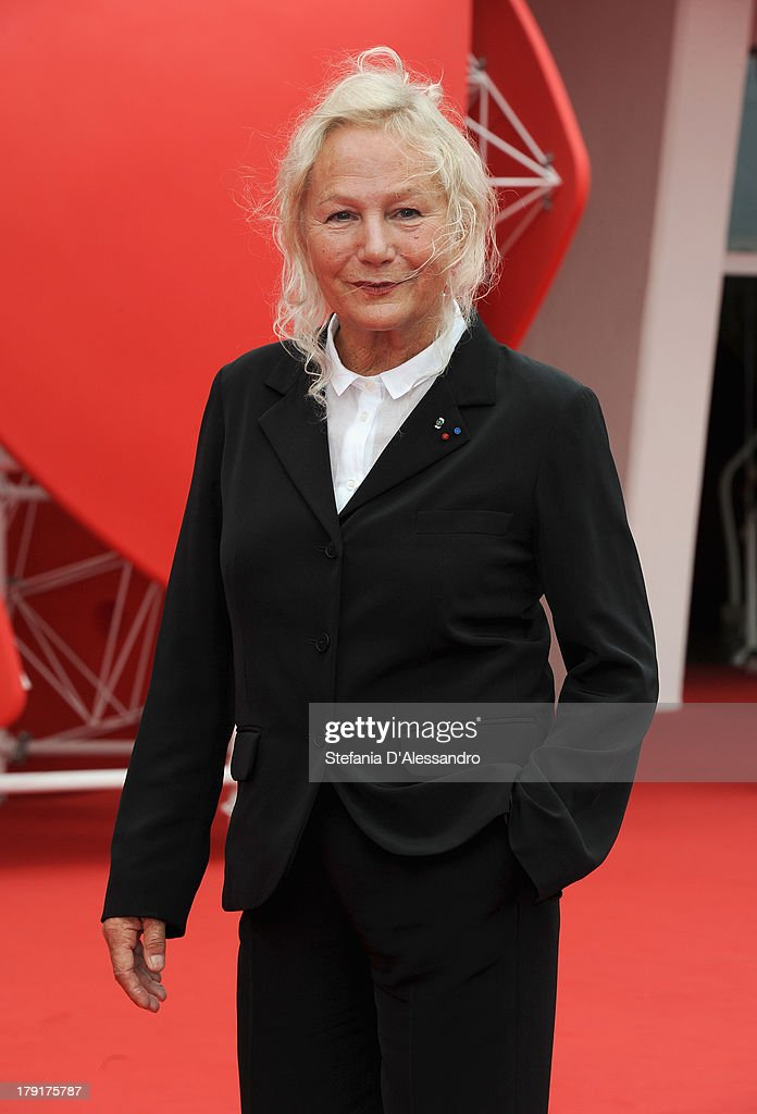 Writer/Director Agnes B. attends 'Je M' Appelle Hmmm...' Premiere during the 70th Venice International Film Festival at Palazzo del Casino on September 1, 2013 in Venice, Italy.