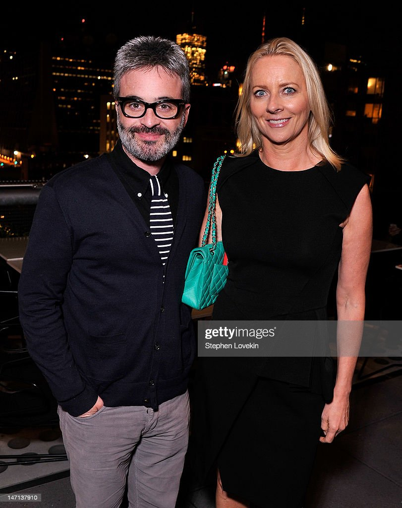 Writer/director Alex Kurtzman and Allure editor-in-chief <a gi-track='captionPersonalityLinkClicked' href=/galleries/search?phrase=Linda+Wells&family=editorial&specificpeople=215294 ng-click='$event.stopPropagation()'>Linda Wells</a> attend the after party for the Cinema Society with <a gi-track='captionPersonalityLinkClicked' href=/galleries/search?phrase=Linda+Wells&family=editorial&specificpeople=215294 ng-click='$event.stopPropagation()'>Linda Wells</a> & Allure screening of DreamWorks Studios' 'People Like Us' at Hotel Americano on June 25, 2012 in New York City.