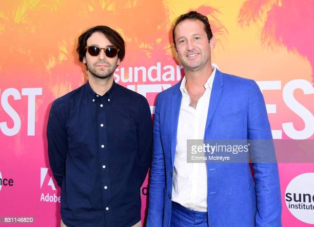 Writer/director Alex Ross Perry and Trevor Groth Director of Programming at Sundance Film Festival attend 2017 Sundance NEXT FEST at The Theater at...