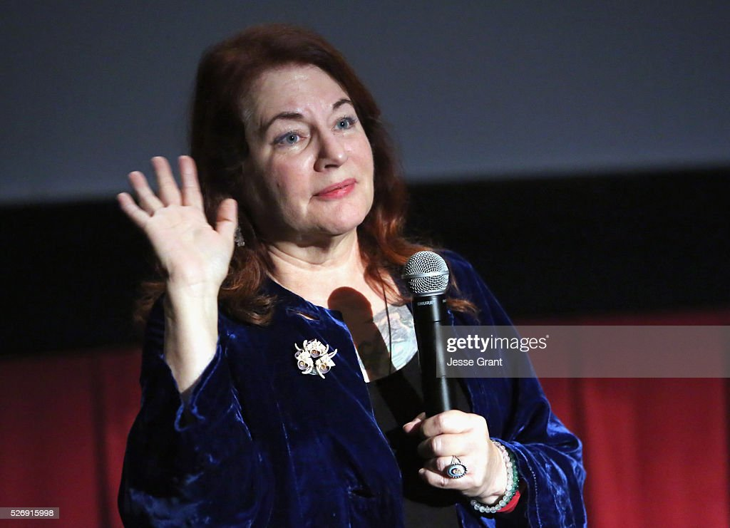 Writer/director Allison Anders speaks onstage at 'All That Heaven Allows' screening during day 4 of the TCM Classic Film Festival 2016 on May 1, 2016 in Los Angeles, California. 25826_009