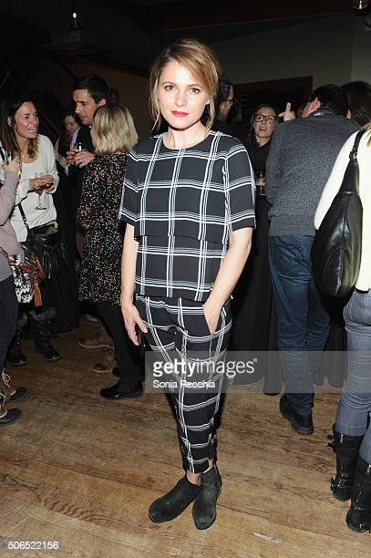 Writer/Director Amy Seimetz attends 'The Girlfriend Experience' cast party at Wasatch Brew Pub on January 23 2016 in Park City Utah
