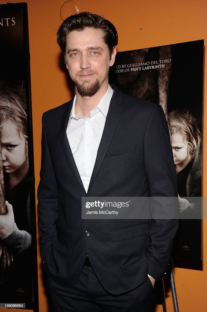 Writer/director Andres Muschietti attends the 'Mama' New York Screening at Landmark's Sunshine Cinema on January 7, 2013 in New York City.