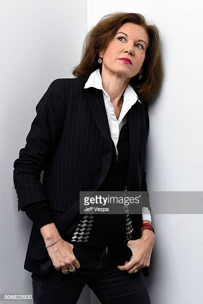 Writer/director Anne Fontaine from the film 'Agnus Dei' poses for a portrait during the WireImage Portrait Studio hosted by Eddie Bauer at Village at...