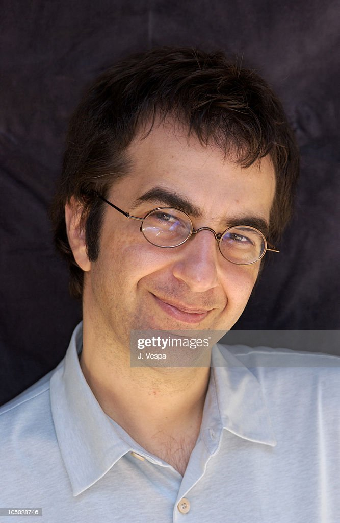 Writer/director <a gi-track='captionPersonalityLinkClicked' href=/galleries/search?phrase=Atom+Egoyan&family=editorial&specificpeople=215428 ng-click='$event.stopPropagation()'>Atom Egoyan</a> during Cannes 2002 - 'Ararat' Portraits at Savoy Hotel in Cannes, France.