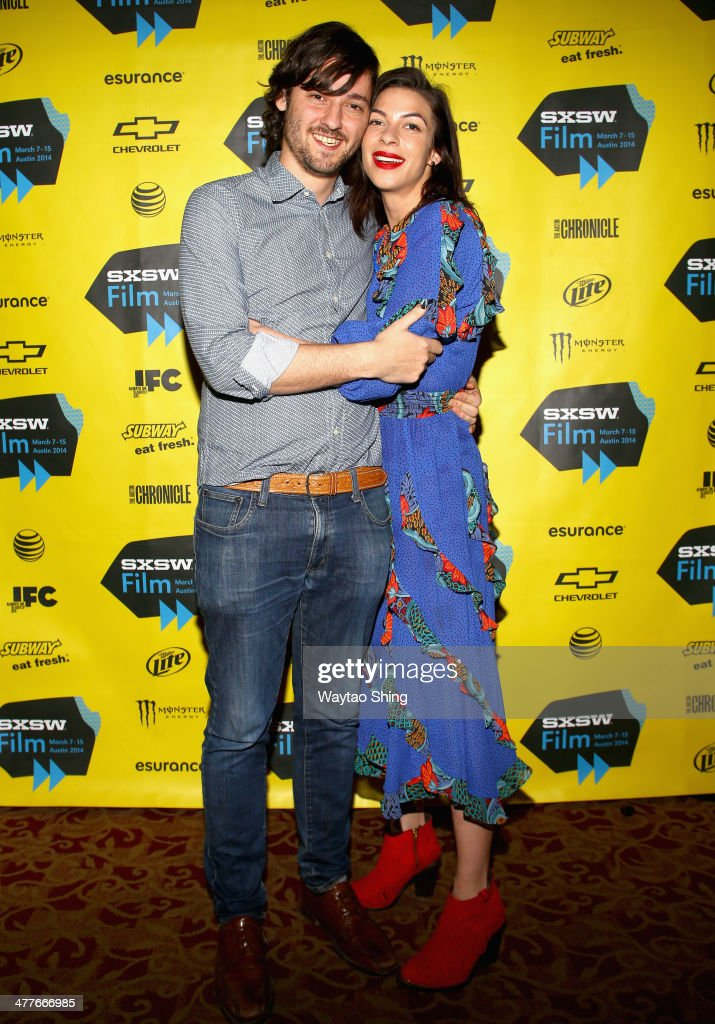 Writer/director Carlos Marques-Marcet and actress <a gi-track='captionPersonalityLinkClicked' href=/galleries/search?phrase=Natalia+Tena&family=editorial&specificpeople=4356716 ng-click='$event.stopPropagation()'>Natalia Tena</a> attend the '10,000KM (Long Distance)' Photo Op and Q&A during the 2014 SXSW Music, Film + Interactive Festival at Alamo Ritz on March 10, 2014 in Austin, Texas.