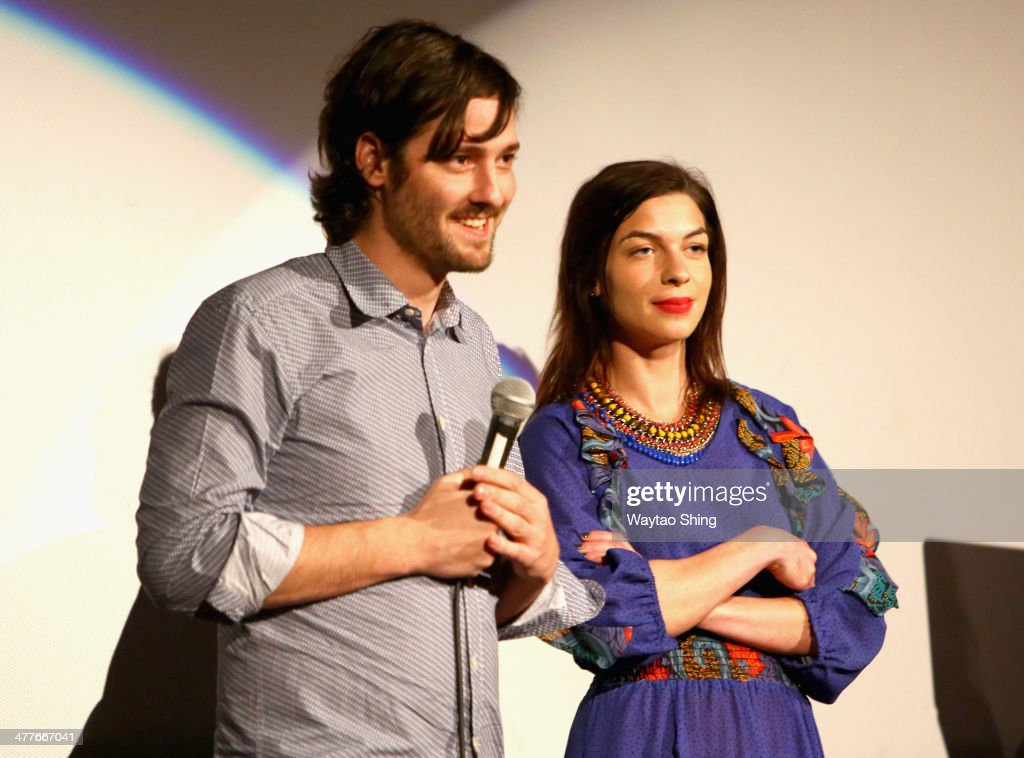 Writer/director Carlos Marques-Marcet and actress <a gi-track='captionPersonalityLinkClicked' href=/galleries/search?phrase=Natalia+Tena&family=editorial&specificpeople=4356716 ng-click='$event.stopPropagation()'>Natalia Tena</a> speak onstage at the '10,000KM (Long Distance)' Photo Op and Q&A during the 2014 SXSW Music, Film + Interactive Festival at Alamo Ritz on March 10, 2014 in Austin, Texas.