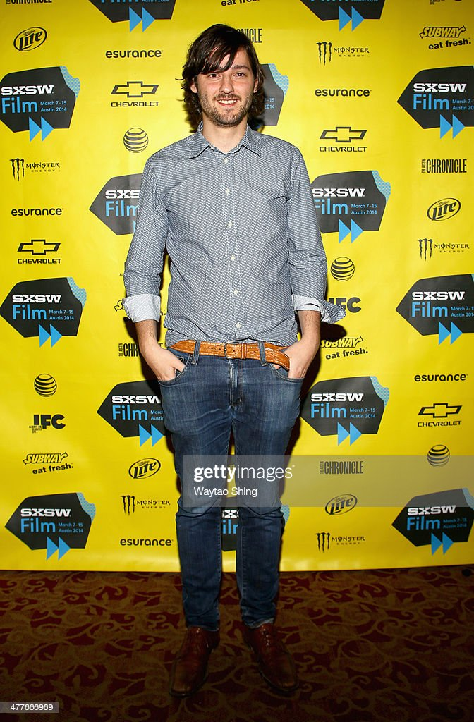 Writer/director Carlos Marques-Marcet attends the '10,000KM (Long Distance)' Photo Op and Q&A during the 2014 SXSW Music, Film + Interactive Festival at Alamo Ritz on March 10, 2014 in Austin, Texas.