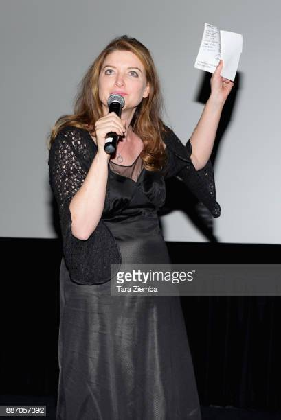 Writer/director Colette Burson attends the Magnolia Pictures' Los Angeles premiere of 'Permanent' at Wood Vine on December 5 2017 in Hollywood...