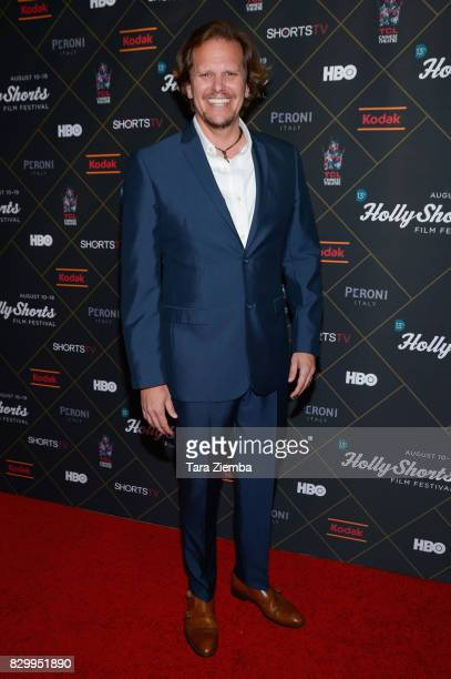 Writer/director Cory Reeder attends the 2017 HollyShorts Film Festival Opening Night Gala at TCL Chinese 6 Theatres on August 10 2017 in Hollywood...