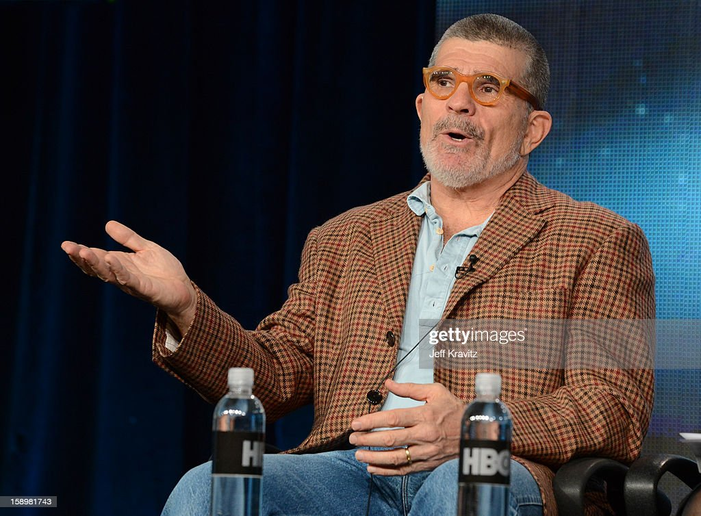 Writer/Director David Mamet speaks about the new HBO Film 'Phil Spector' during the HBO Winter 2013 TCA Panel at The Langham Huntington Hotel and Spa on January 4, 2013 in Pasadena, California.