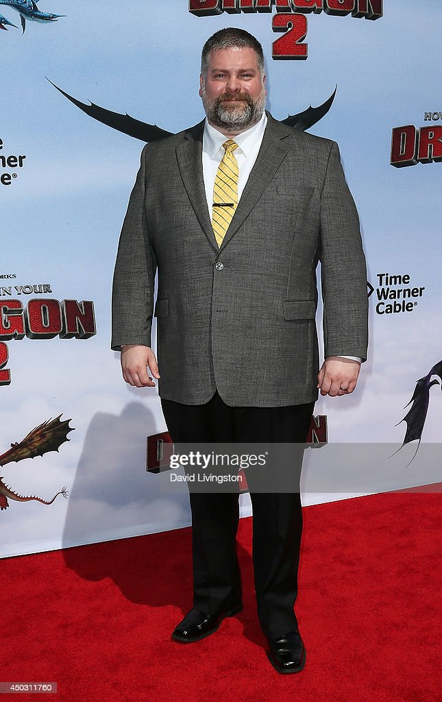Writer/director Dean DeBlois attends the premiere of Twentieth Century Fox and DreamWorks Animation 'How to Train Your Dragon 2' at the Regency Village Theatre on June 8, 2014 in Westwood, California.