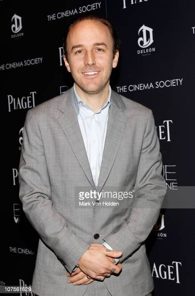 Writer/director Derek Cianfrance attends the Cinema Society Piaget screening of 'Blue Valentine' at theTribeca Grand Hotel on December 13 2010 in New...