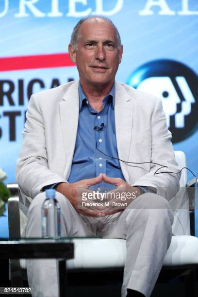 Writer/director Eric Stange of 'Edgar Allan Poe Buried Alive' speaks onstage during the PBS portion of the 2017 Summer Television Critics Association...