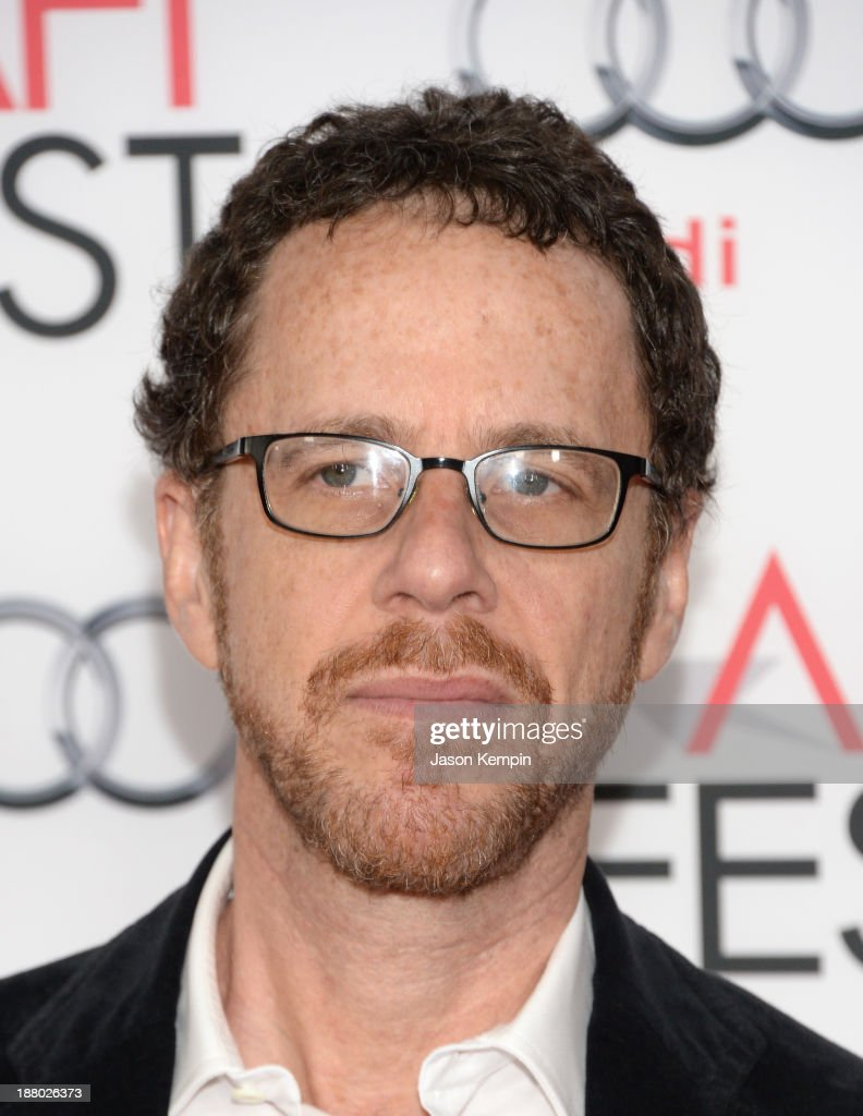 Writer/director Ethan Coen attends the AFI FEST 2013 presented by Audi closing night gala screening of 'Inside Llewyn Davis' at TCL Chinese Theatre...