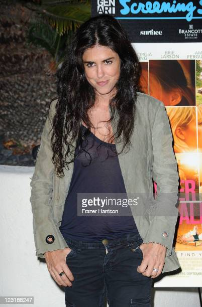 Writer/director Francesca Gregorini attends the Gen Art Screening Of Anchor Bay Films 'Tanner Hall' by the poolside of the WHotel in on August 31...